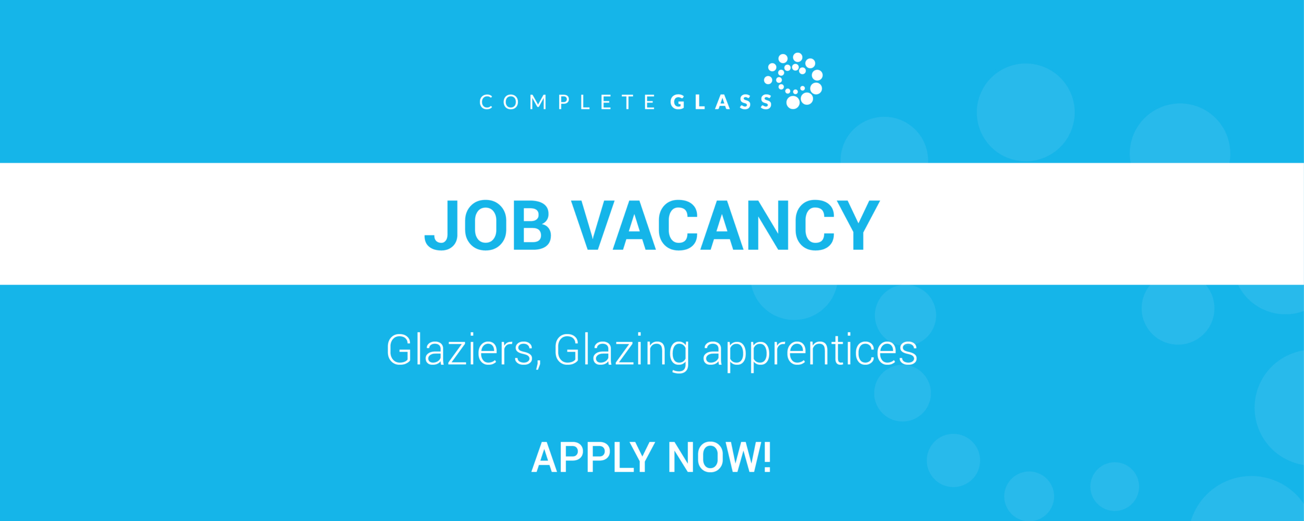 sydney-glazier-job-vacancy